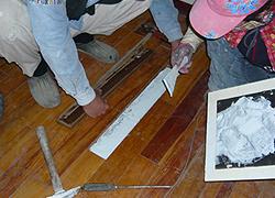 木板黏貼固定-3C's塑鋼漿(台灣漿造工業有限公司)
